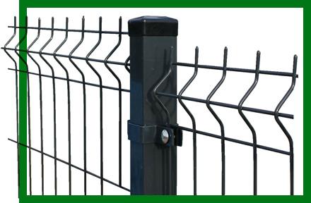 Забор из 3d сетки, материал