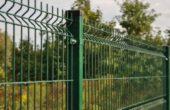 Забор из 3d сетки, Фото, №6