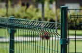 Забор из 3d сетки, Фото, №4