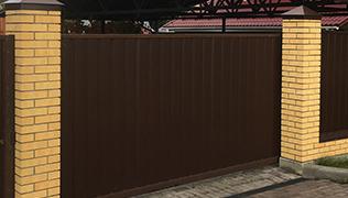 Кирпичные столбы, Фото, №15