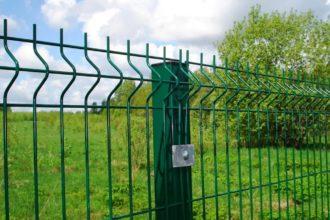 Забор из 3d сетки, Фото, №15