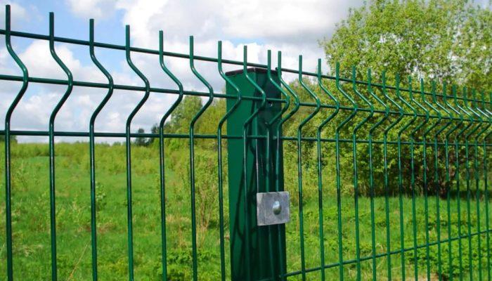 Забор из 3d сетки, Фото, №13