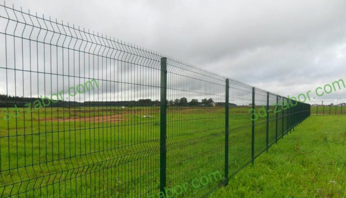 Забор из 3d сетки, Фото, №14