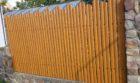 Забор из штакетника под дерево, Фото, №10