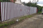Забор из белого штакетника, Фото, №15