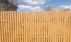 Забор из штакетника под дерево, Фото, №7
