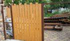 Забор из штакетника под дерево, Фото, №8