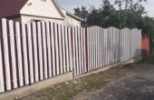 Забор из белого штакетника, Фото, №14