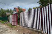 Забор из белого штакетника, Фото, №11