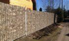 Забор из профнастила под камень, Фото, №8