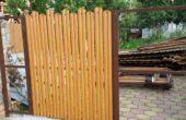 Забор из двухстороннего штакетника, Фото, №37