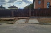 Забор из двухстороннего штакетника, Фото, №35