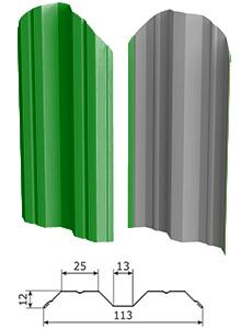 Откатные ворота из штакетника, материал