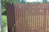 Забор из двухстороннего штакетника, Фото, №4