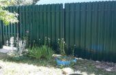 Забор из двухстороннего штакетника, Фото, №3