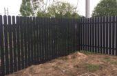 Забор из двухстороннего штакетника, Фото, №30