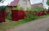 Забор из двухстороннего штакетника, Фото, №23