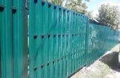 Забор из двухстороннего штакетника, Фото, №11