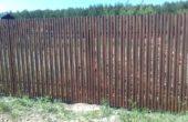 Забор из двухстороннего штакетника, Фото, №10