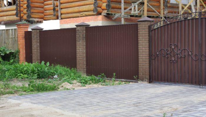 Заборы в Куровском, Фото, №8