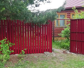 Заборы в Волоколамском районе, Фото, №2