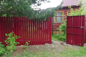 Заборы в Истринском районе, Фото, №9